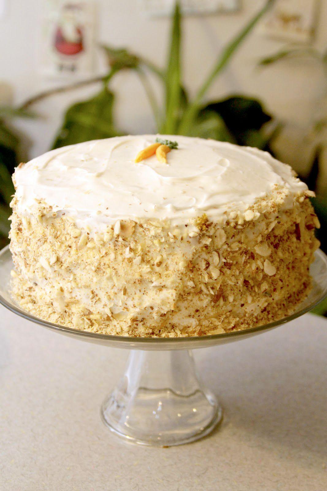 Vegan Carrot Cake Recipe My Favorite Using Chia Seed