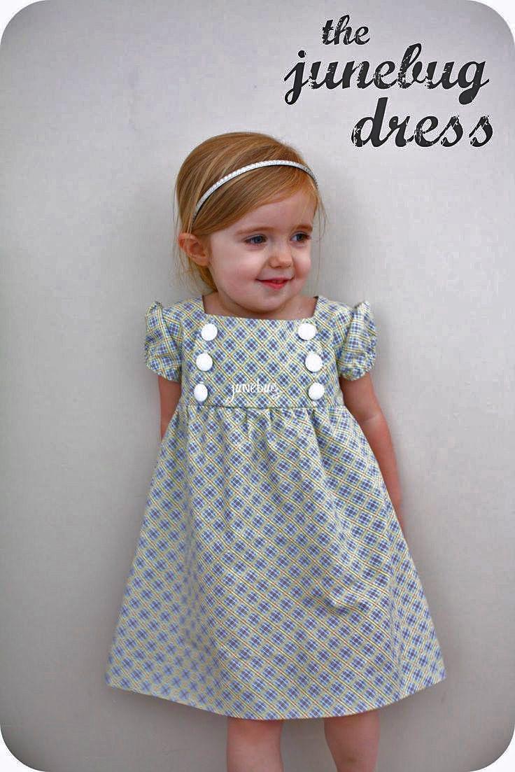 Junebug Dress You Can Download The Free 2t 3t Pattern Here I Say 2t Slash 3t Because Sadie S K Toddler Dress Patterns Baby Girl Dresses Diy Girls Dresses Diy [ 1103 x 736 Pixel ]