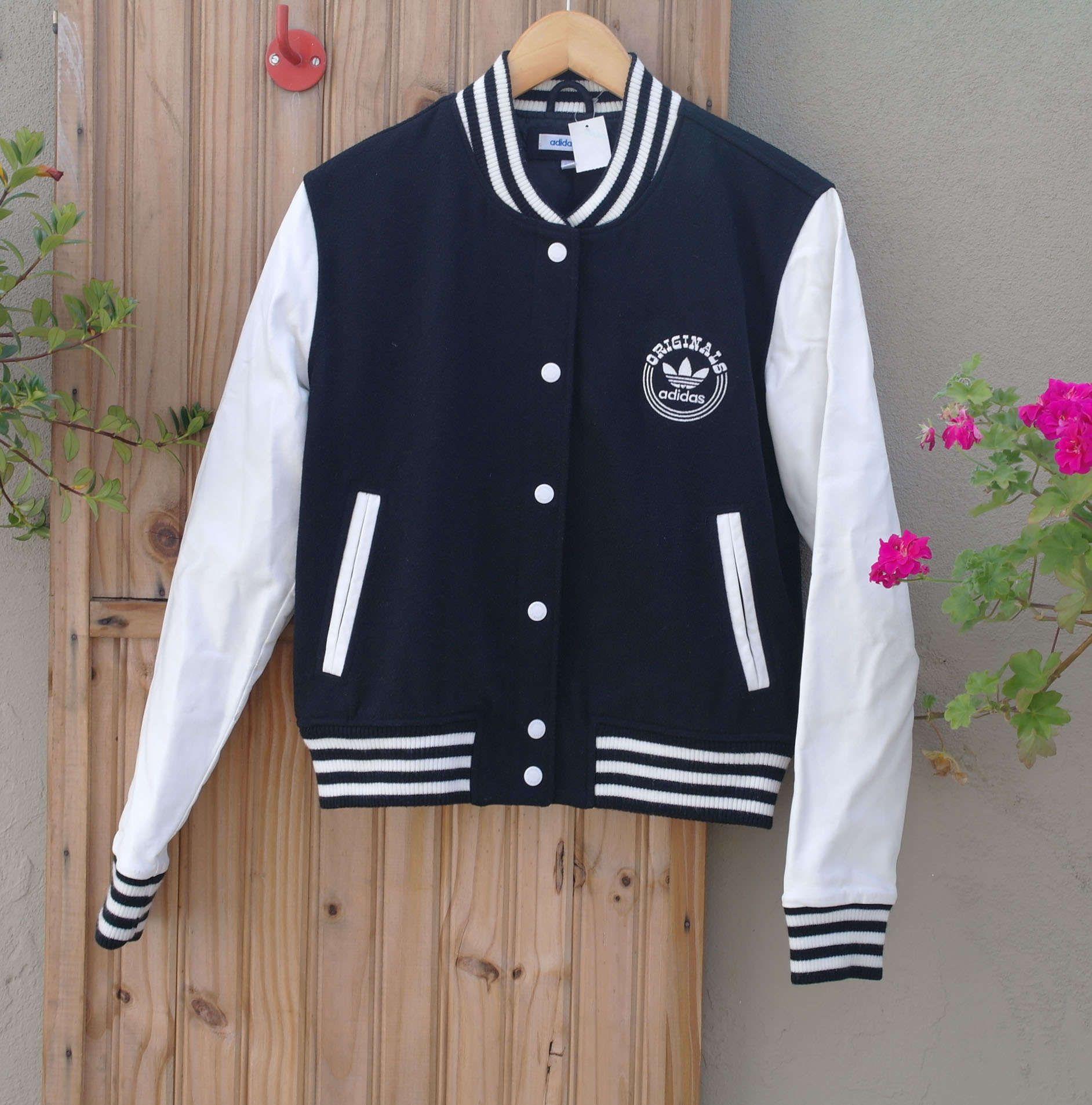 f698890cd48 jaqueta college Adidas