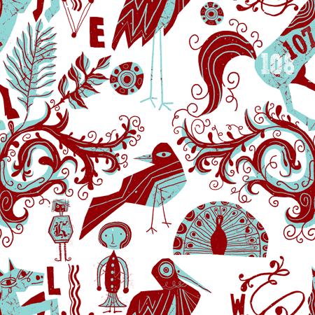 A folky pattern