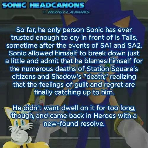 Sonic's most trusted person