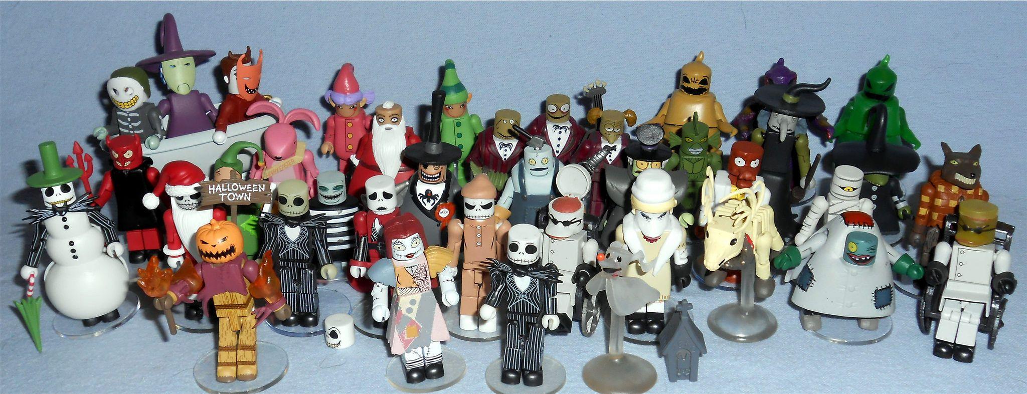 TV, Movie & Video Games Nightmare Before Christmas Minimates Blind Bag Series 3 Pajama Jack Skellington