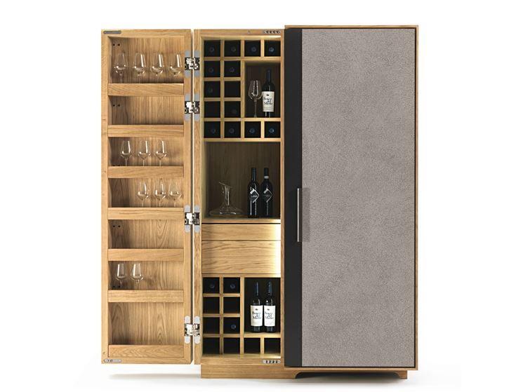 Mobile Bar Cambusa Wine Jumbo Concrete