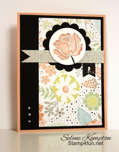 Stamp 4 fun with Selene Kempton: 3/27 Stampin Up, Sale-A-Bration Project Parade, Banner Blast