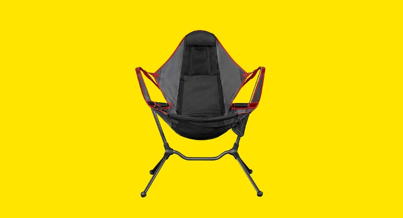 This Folding Rocking Camp Chair Puts Other Chairs to Shame