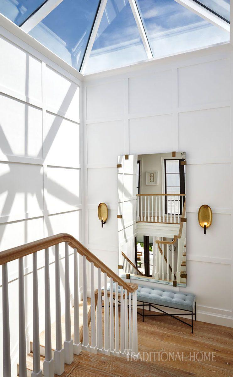 Hallway trim ideas  Spacious Beachfront Home in Juno Beach Florida  Traditional Home
