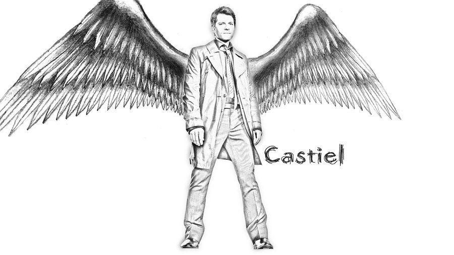 Castiel by Nikky81.deviantart.com on @deviantART