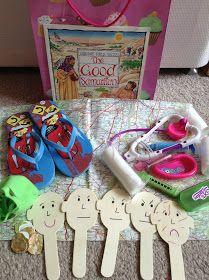 Good Samaritan Story Bag | Preschool bible lessons, Sunday ...