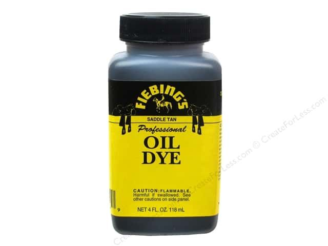 Fiebings Professional Oil leather Dye is an alcohol dye created specifically for…