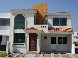 Resultado De Imagen Para Fachadas De Casas Modernas De Dos Pisos En Mexico Fachada De Casas Mexicanas Fachada De Casa Disenos De Casas