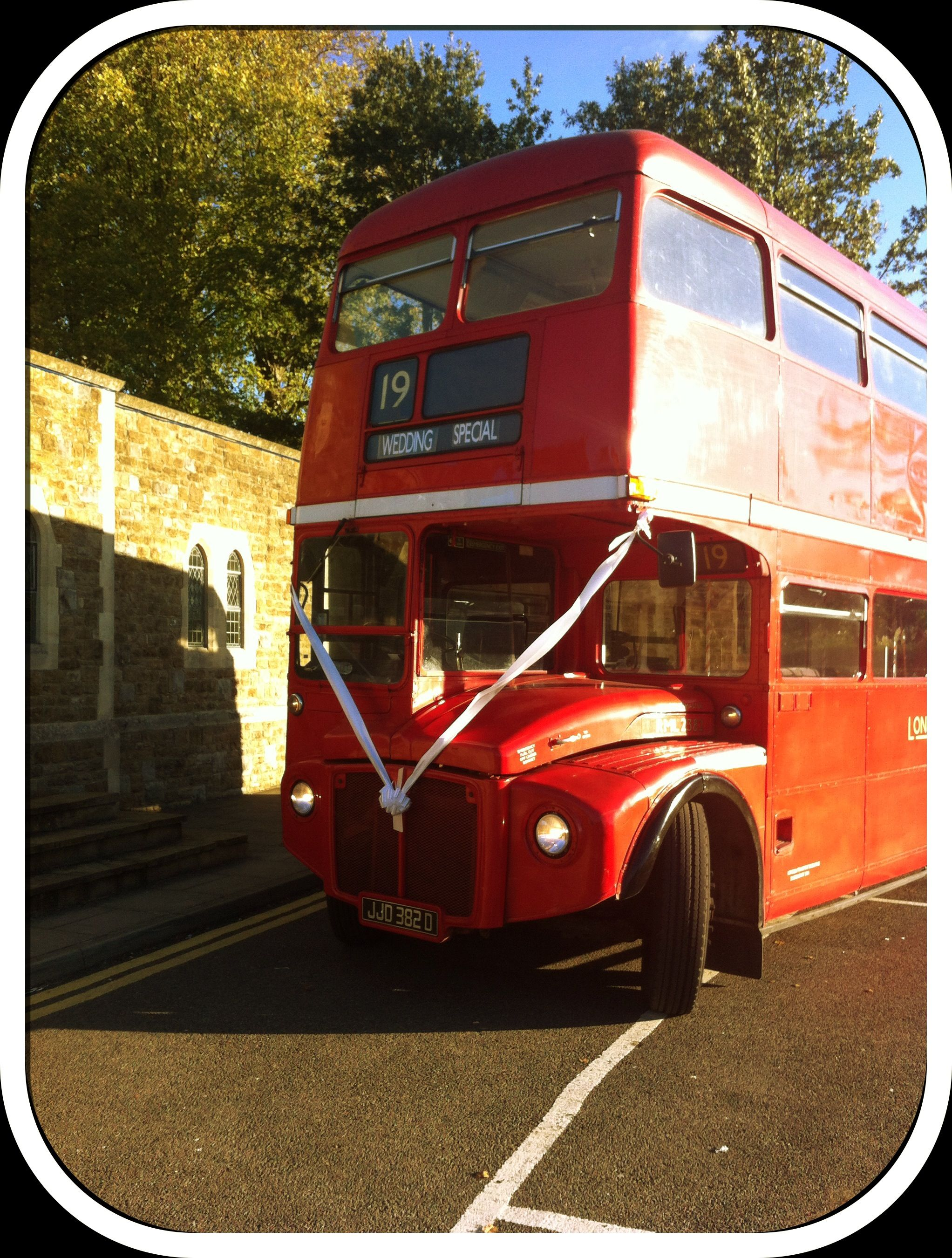 Vintage Double Decker Routemaster London Bus For Hire Gbrbcouk