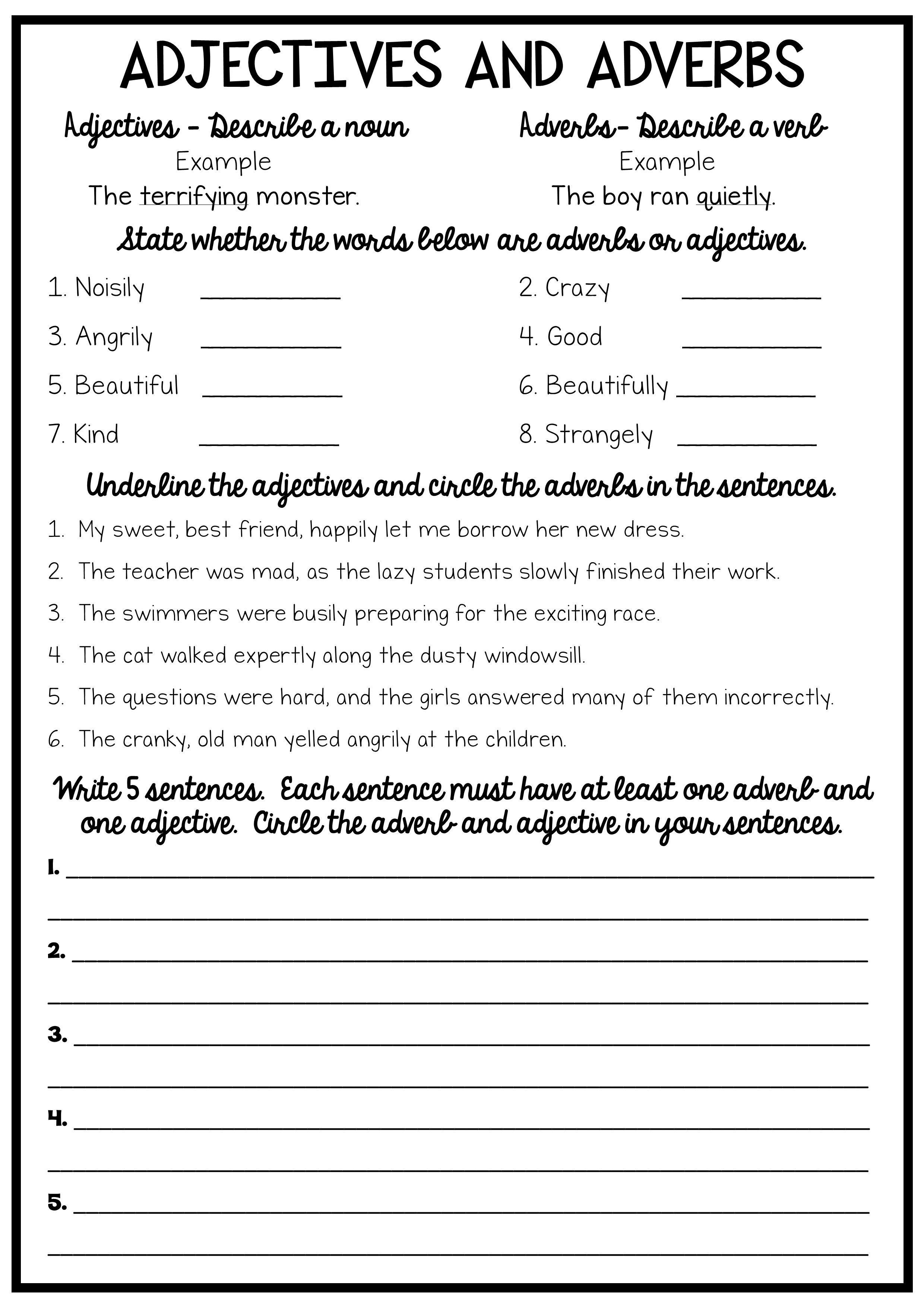 Reading And Grammar Pack No Prep Printables Spelling And Handwriting Teaching English Grammar Grammar Worksheets [ 3508 x 2480 Pixel ]