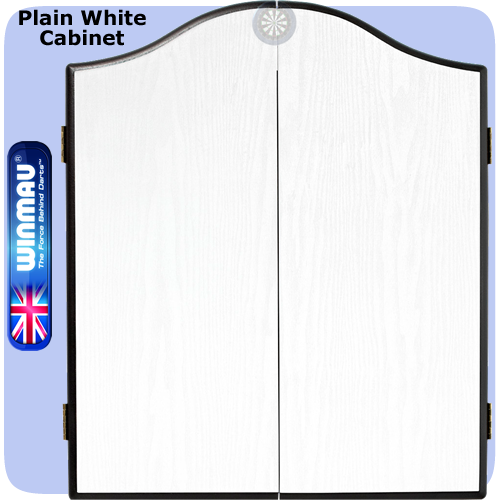 Dartboard Cabinets Winmau To Fit All Bristle Dartboards Plain White Http