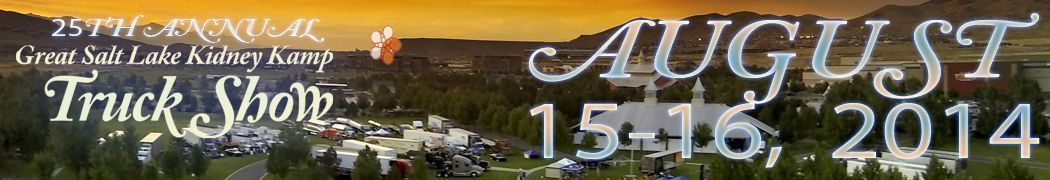 Great Salt Lake Kidney Kamp Truck Show