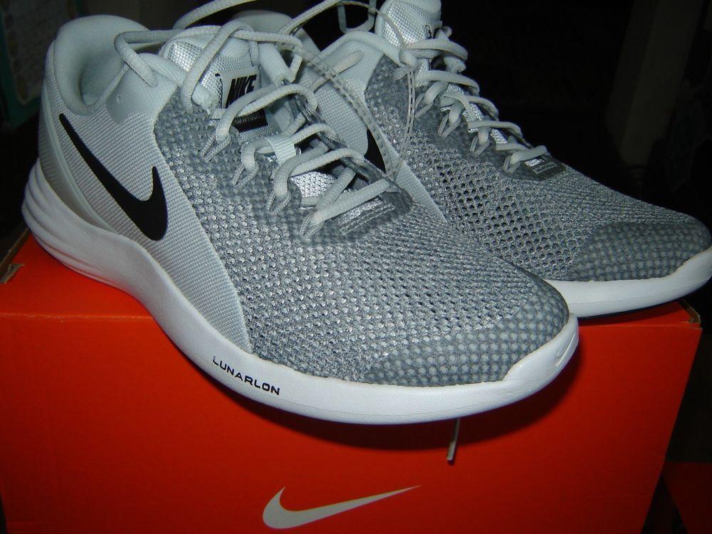 New Boy Lunarlon Running Shoes Size 4