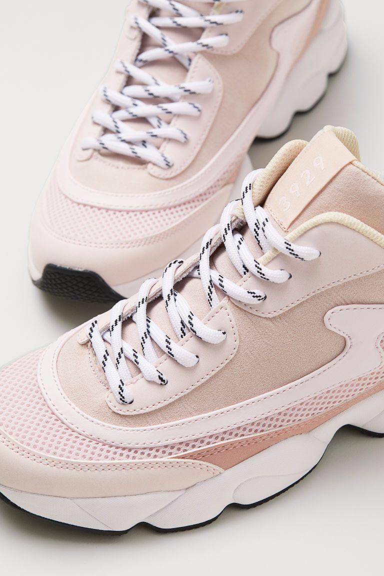 5aa1399356 Кеды - Светлый пудрово-розовый - Женщины