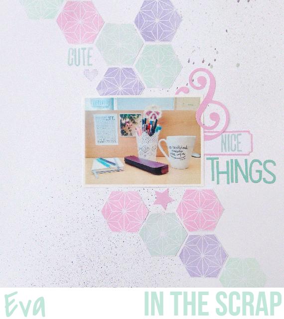 In The Scrap: Reto Febrero: Paleta de colores