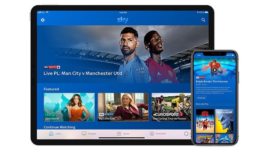 New Sky Go App Will Let You Manage Your Sky Q Recordings On The Go Sky Q Sky Go Sky Cinema