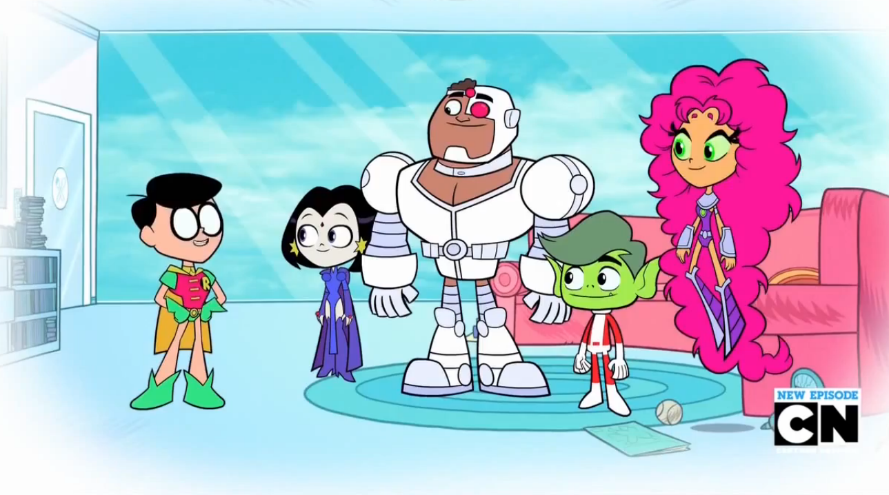 Teen Titans Go Season 2 Episode 12 - -7711