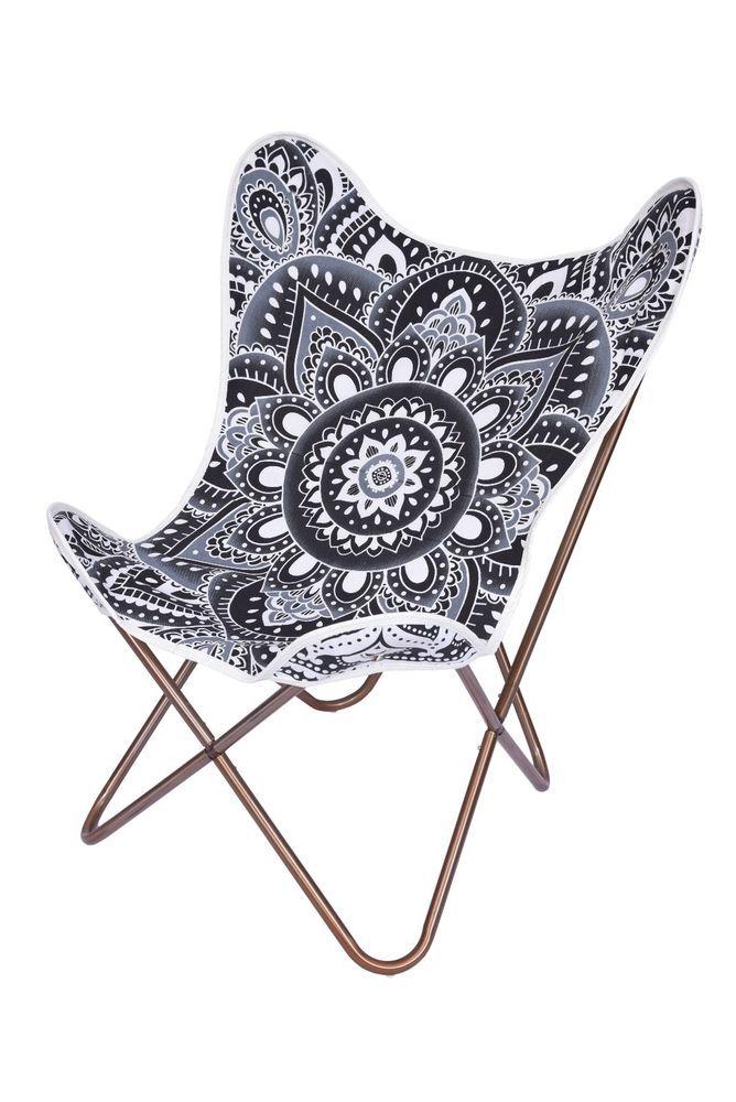 Black Lotus Mandala Replacement Cover For Butterfly Chair   Only Cover   Butterfly  Chair, Lotus Mandala And Mandala