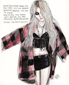 Taylor momsen the pretty reckless | Taylor Momsen by Lucas David ...
