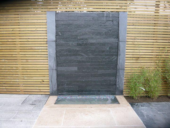 view slate waterwall feature image gallery