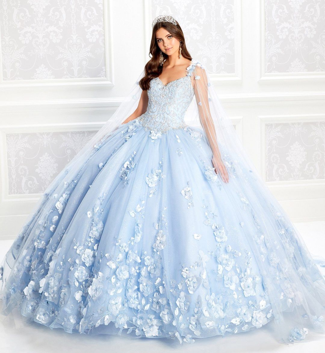 Princesa By Ariana Vara Pr22021nl Quinceanera Dress In 2021 Light Blue Quinceanera Dresses Quinceanera Dresses Blue Pretty Quinceanera Dresses [ 1174 x 1080 Pixel ]