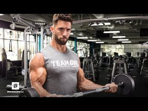 the arm workout that will split your sleeves  bicep and