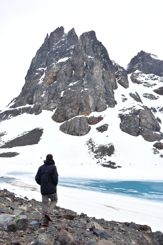 Laguna Duff, en Cerro Castillo, Chile