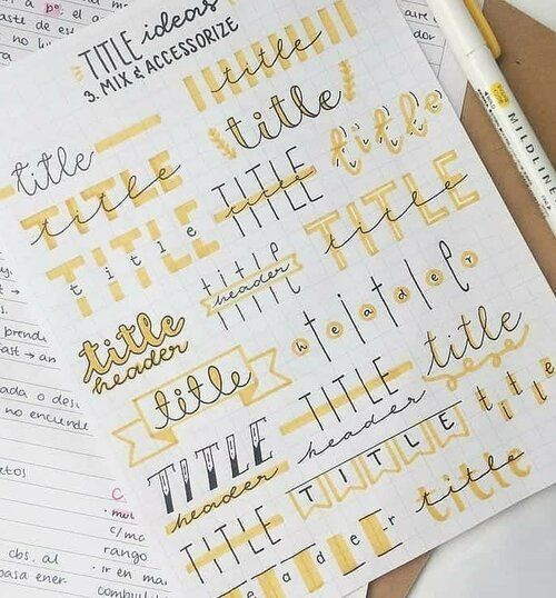 FOCUS ON: BULLET JOURNALS  — CLAIRE HEFFER DESIGN