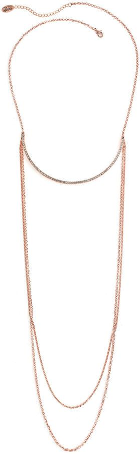 Nicole By Nicole Miller 14 Inch Chain Necklace