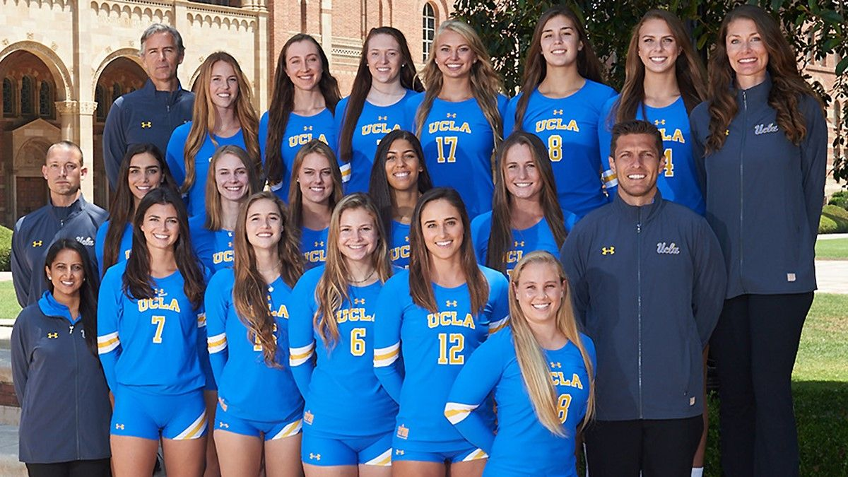 Pin By Marcuss On Ucla Or More Specifically Women Volleyball Team Photos Women