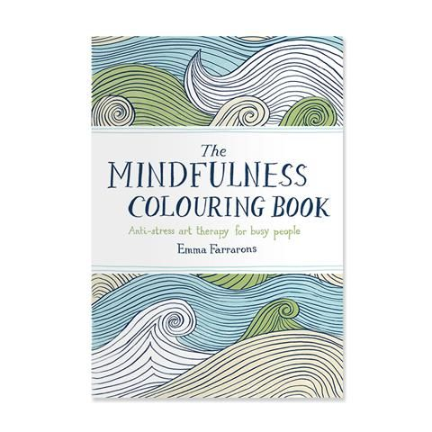 The Mindfulness Colouring Book By Emma Farrarons Kmart Rh Com Walgreens Coloring Books