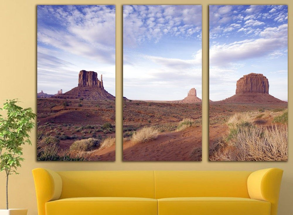 Sunrise Over Water Ccontemporary Wall Decor Etsy Monument Valley Large Canvas Prints Monument Valley Arizona