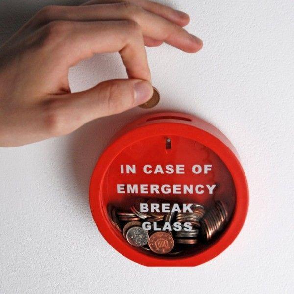 Hucha de emergencia!