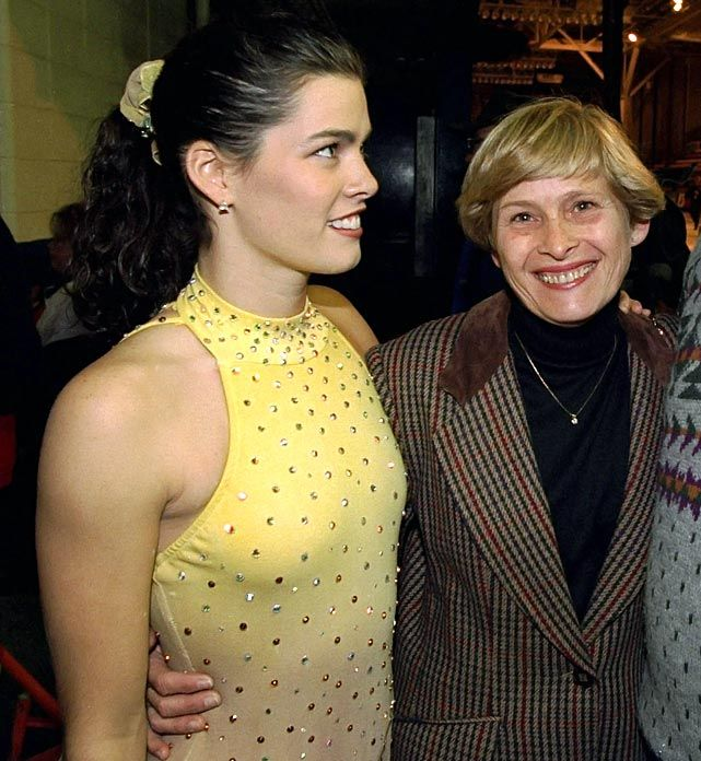 Nancy Kerrigan - with her mother Brenda (1994) - SI's Rare Photos of Sports Figures and Their Moms - Photos - SI.com
