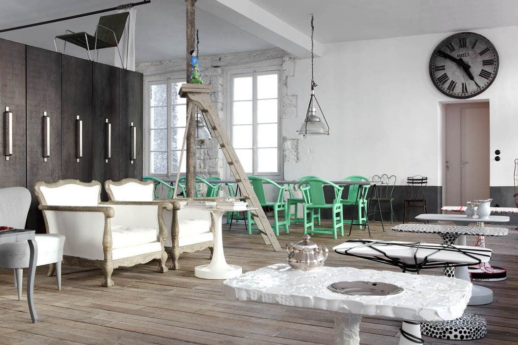 The Italian architect & designer Paola Navone's home in Paris