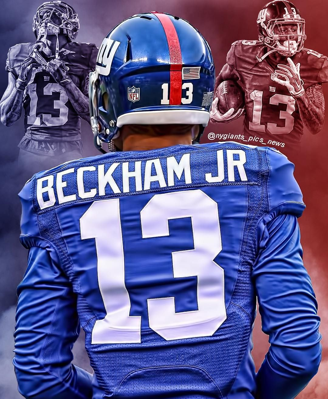 212 Likes 11 Comments Edits Big Blue News Nygiants Pics News On Instagram Odell Beckh Beckham Jr Odell Beckham Jr Giants Odell Beckham Jr Wallpapers