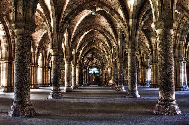 Cloister Glasgow University Glasgow University Glasgow Glasgow Scotland