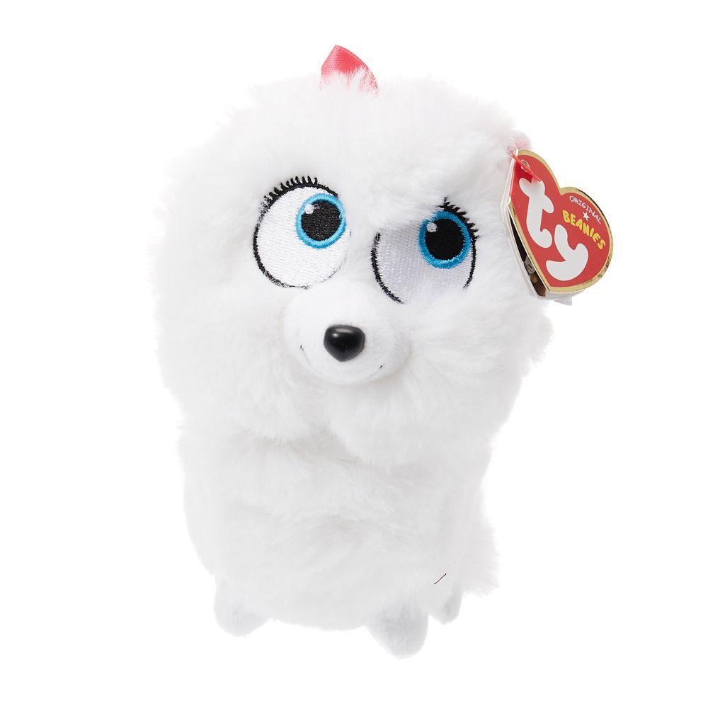 Ty Beanie Baby Gidget The Dog Secret Life Of Pets Plush Toy Baby Beanie Secret Life Of Pets Ty Beanie