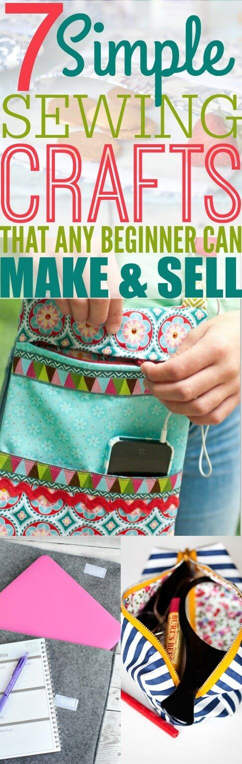 7 Sewing Crafts That Any Beginner Can Make And Sell