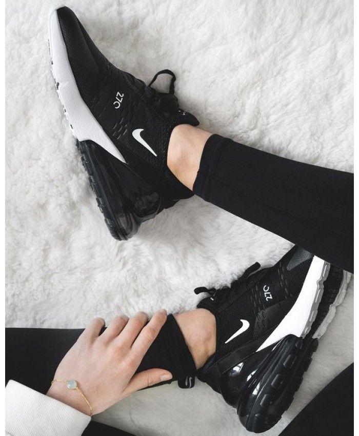 Air Max 270 Women's Classic BlackBlack White | Nike air max