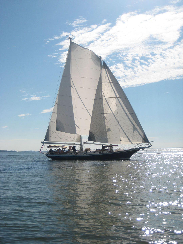 Greater Chesapeake Schooner Race 10-17-13  Light Reign Oxford MD