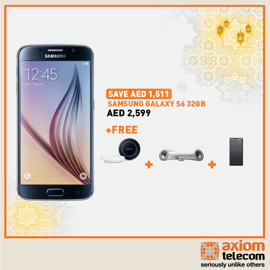 Samsung Galaxy S6 Wow Offer at Axiom | Best Offers on Mobiles