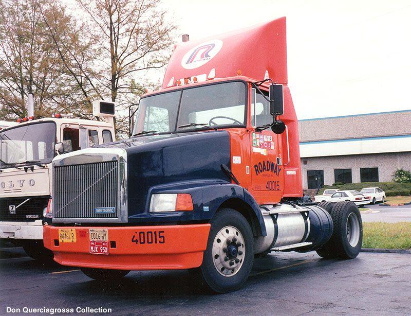 David Faust S Roadway Express Volvo Volvo Trucks Trucks Big Trucks