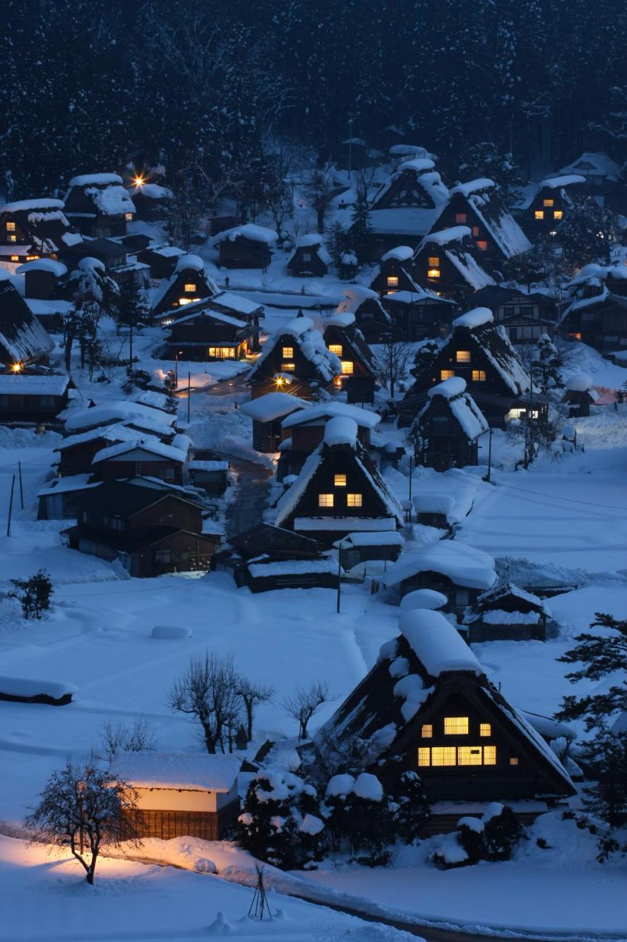 Nubbsgalore The Village Of Shirakawa Gō In Japan S Gifu Prefecture Is Known For Its Gasshō Zukuri Style H Beautiful Locations Scenery Shirakawa Go
