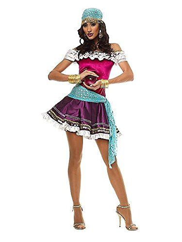 Fortune Teller Costume Medium Dress Size 810 -- Read more reviews of - ladies halloween costume ideas