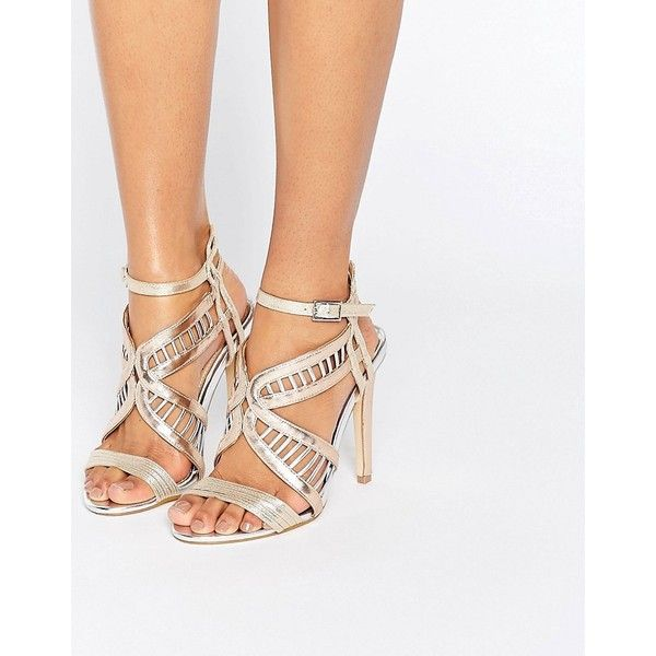Miss KG Strappy Sandal - Silver | Strappy, Luxury shoes