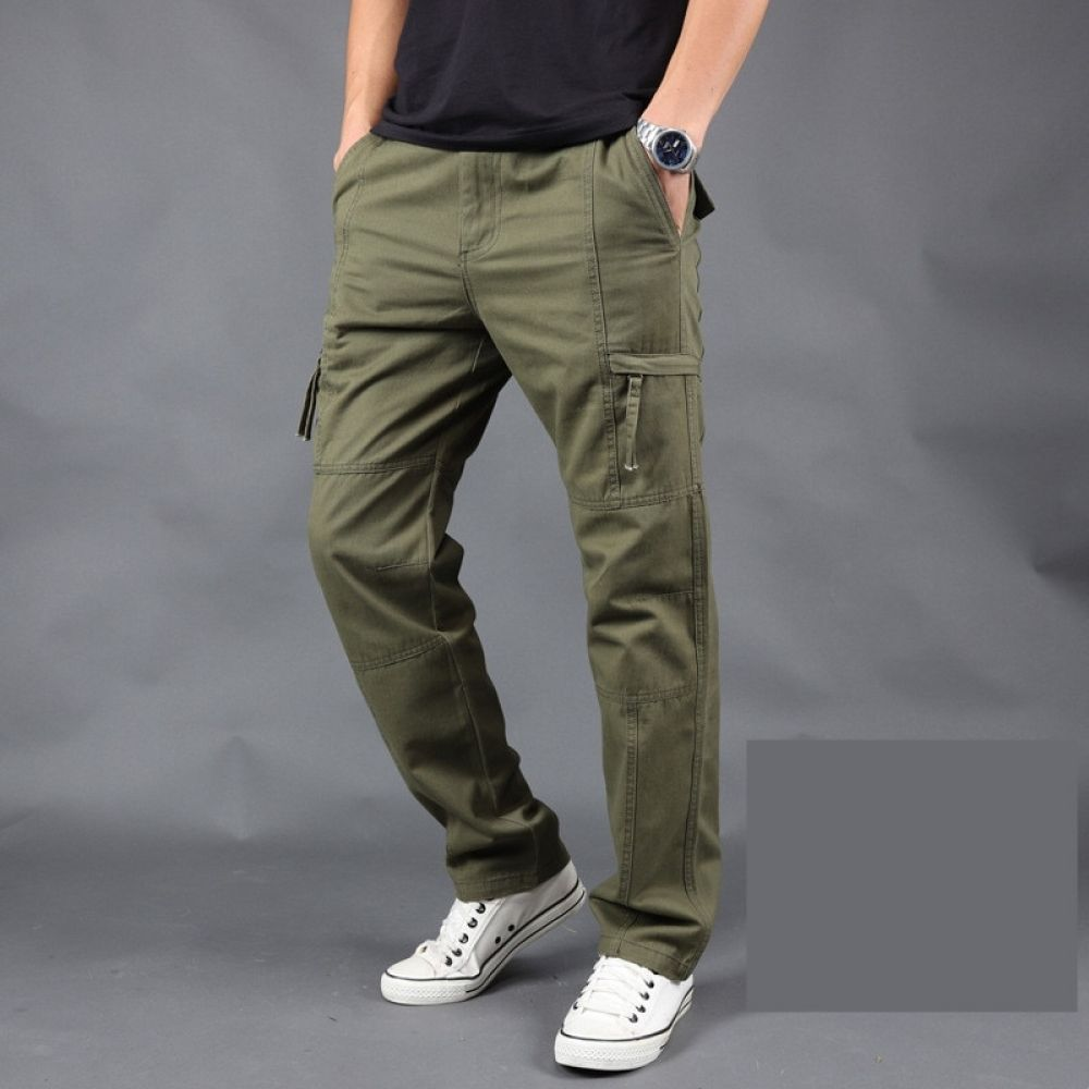 e6ac20b7c72 Pants Male Camo Jogger Casual Plus Size Cotton Trousers Multi Pocket  Military Style Army Camouflage Men s