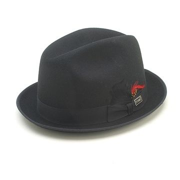 5ad6761e6 Dobbs Black Rocky Fedora in 2019 | For The Hubs | Dobbs hats, Hats ...